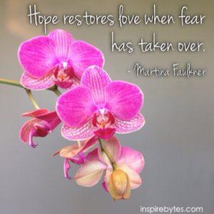 hope restores love