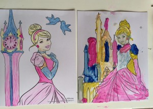 princess painting