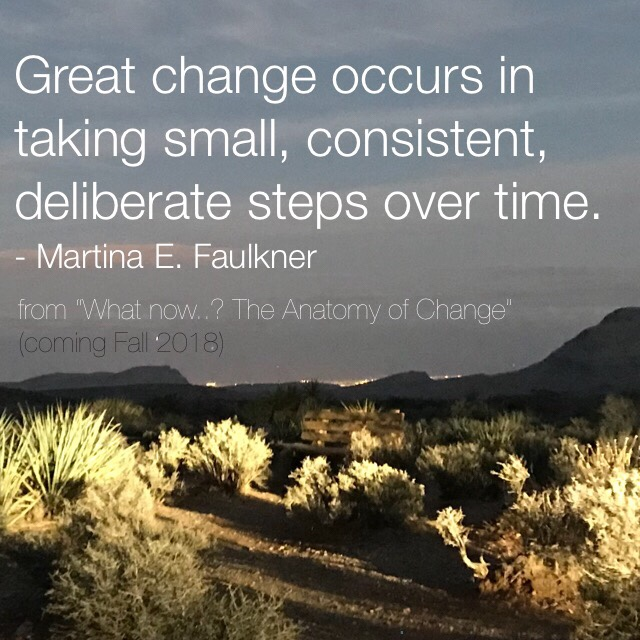 Change quote on a desert scene