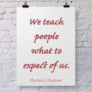 We teach expectations