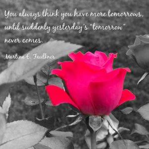 tomorrow never comes quote