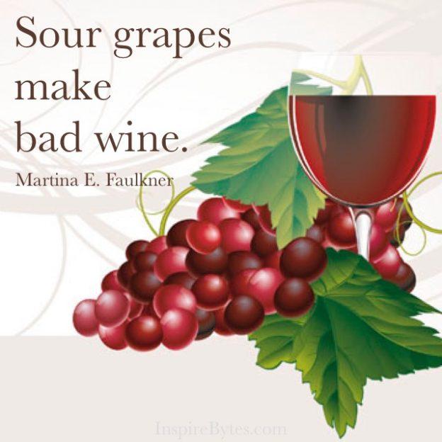 Sour Grapes Quote